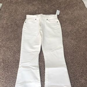 White Banana Republic Flare Jeans Size 25